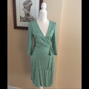 Old Navy Cotton Jersey Wrap Dress